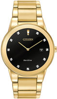 Citizen Eco-Drive Axiom Mens Diamond-Accent Watch AU1062-56G