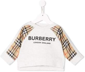 Burberry printed logo sweatshirt