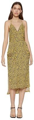 BCBGeneration Cocktail Drape Pocket Midi Dress - TTY6169244 (Multi) Women's Dress