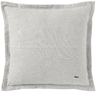 Lacoste Flannel Cotton Throw Pillow