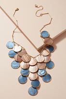 Anthropologie Tiered Seashell Necklace