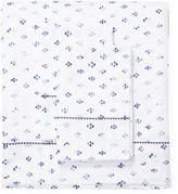 Melange Home Broken Diamond Cotton Sheet Set