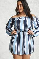 Forever 21 Plus Size Off-the-Shoulder Dress