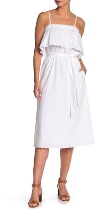 Joie Rindinya Popover Midi Dress