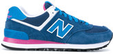 New Balance 574 core plus sneakers - women - Leather/Suede/Cotton/rubber - 38