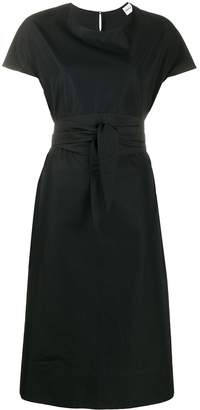 Aspesi Vesti tie-waist cotton dress