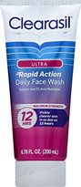 Clearasil Ultra Acne Treatment Daily Face Wash, 6.78 Ounce (Pack of 3)