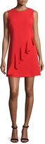 A.L.C. Clarence Sleeveless Ruffle Dress, Tomato