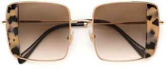 Miu Miu Tortoiseshell Detail Sunglasses