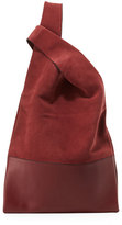 Hayward Suede & Leather Shopper Tote Bag