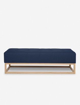 Lulu & Georgia Grasmere Bench, Dark Blue By Ginny Macdonald