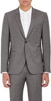 Paul Smith Men's Worsted Wool Slim Two-Button Sportcoat-GREY