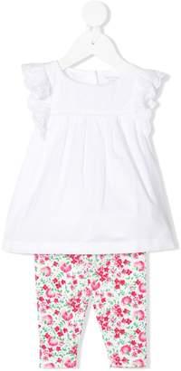 Ralph Lauren Kids Floral-Print Trouser Set