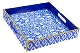 Lilly Pulitzer Pooling Around Lacquer Tray