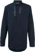 Neil Barrett untied bow print shirt - men - Cotton - 38