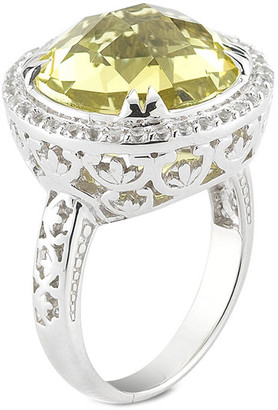 Delatori By Alor Silver 12.00 Ct. Tw. Gemstone Ring