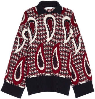 J.W.Anderson Merino Wool Paisley Sweater