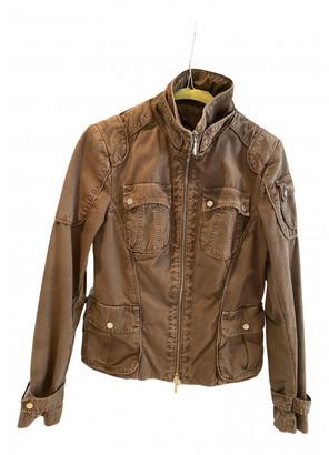 Moncler Brown Cotton Jackets