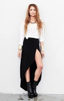 spring & clifton Regine Wrap Maxi Skirt