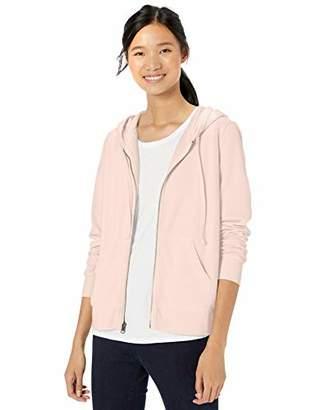 Goodthreads Amazon Brand Women's Modal Fleece Full-Zip Hoodie