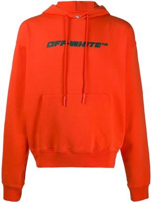 Off-White Trellis drawstring hoodie