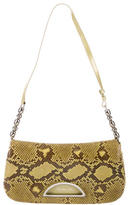 Christian Dior Python Malice Flap Bag