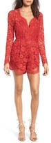Lovers + Friends Women's Eve Lace Romper