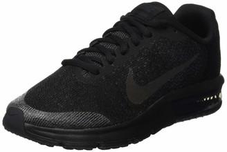 Nike Sequent 2 Gs Girls Gymnastics Shoes Black (Black/black/anthracite) 4 UK (36.5 EU)