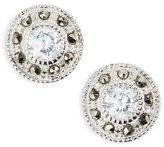 Women's Judith Jack Pave Stud Earrings