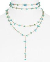 "BaubleBar Mitra Y Choker Necklace, 12"""