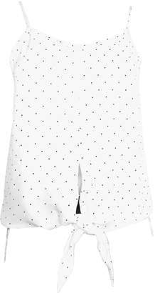 Jenni Kayne White Silk Top for Women