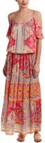 Hale Bob Cold-Shoulder Maxi Dress