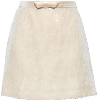 Miu Miu Sequinned Mini Skirt