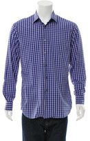Paul Smith Gingham Slim-Fit Button-Up