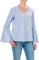 Philosophy Republic Clothing Philosophy Bell Sleeve Shirt - Long Sleeve (For Women)