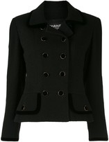 Chanel Pre Owned fitted double-breasted jacket