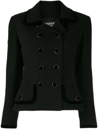 Chanel Pre-Owned fitted double-breasted jacket