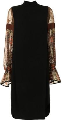 Mame Kurogouchi Stained Glass Sleeve Dress