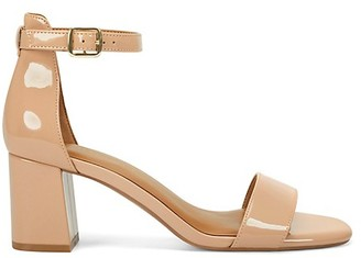 Aerosoles Elba Ankle-Strap Patent Sandals