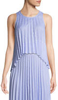 Saylor Hailey Shirting Stripe Tank Top