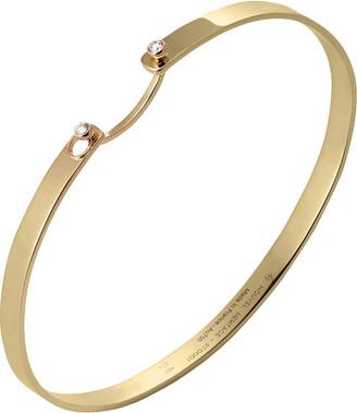 Nouvel Heritage Monday Morning Mood Yellow Gold Bangle Bracelet