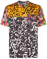 Versace Brushstroke Print T-shirt