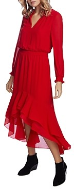 1 STATE 1.state High/Low Maxi Dress