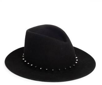 Eugenia Kim Blaine Studded Wool Fedora Hat