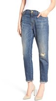 Current/Elliott Women's The Fling High Rise Boyfriend Jeans