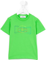 Stone Island Junior print T-shirt