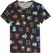 Paul Smith Shirt motif T-shirt 4-16 years