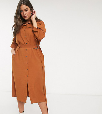 Only Curve utility maxi dress