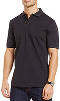 Hart Schaffner Marx Solid Pique Short-Sleeve Polo Shirt
