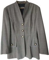 Escada Black Wool Jackets